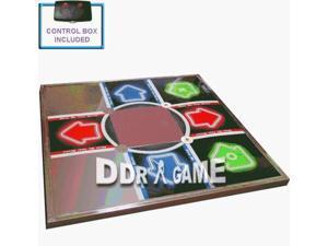 XBOX Tournament Metal Dance Pad Dance Revolution DDR game