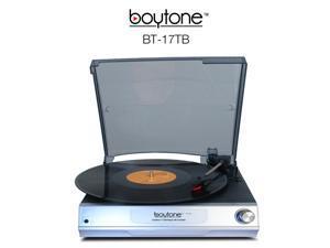 Boytone BT-17TB Full size 3 Speed Stereo belt drive Turntable Built in Speaker