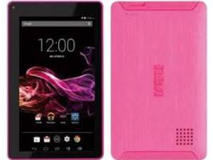 """RCA 7"""" Voyager Tablet 4C 16G Android5.0 Bluetooth v4.0 RCT6773W42B F (Pink) New"""