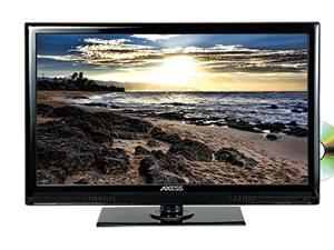 """AXESS TVD1803-24 24"""" Widescreen HD LED TV W Built-In DVD Player Car Adapter"""