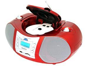 Boytone BT-6R Boombox CD Player USB/SD/MMC Slot FM Radio Auxiliary-in Headphone jack