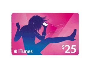 Apple $25 Apple iTunes Gift Card