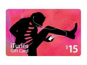 Apple $15 Apple iTunes Gift Card