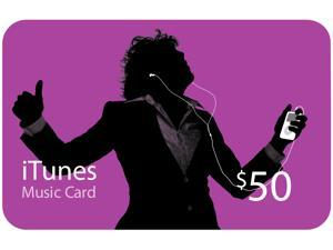 Apple $50 Apple iTunes Gift Card