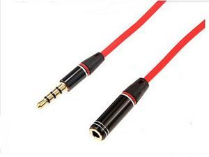 3.5mm Male to Female Jack Plug Aux Stereo Audio Headphone Extension Cable Cord