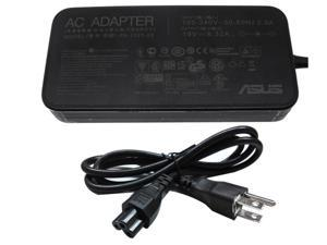 Original ASUS PA-1121-28 120W 19V 6.32A Slim AC Adapter Charger 5.5x2.5mm + 3-prong AC Power Cord