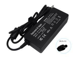 19.5V-2.31A Power Adapter Charger for HP Pavilion Envy Spectre x360 x2 11 13 15 M1 M3 M6&#59; Split x2 13&#59; Slatebook 14 45W (4.5x3.0mm Central Pin)