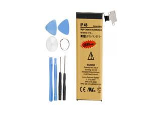 NEW 2680mAh High-Capacity Gold Battery Replacement for Apple iPhone 4S +7*Tools
