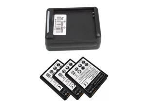 NEW 3 x 2300mah Battery + External Charger For Samsung Galaxy SIII S3 I9300 Top Deal