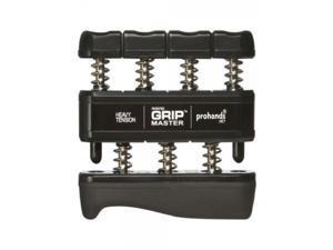 NEW Gripmaster Grip Hand Exerciser 9 Lbs Per Finger Gym Black