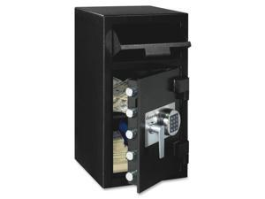"Sentry Safe DH-134E Security Safe - 1.60 ft³ - Programmable Lock, Electronic Lock - 5 x Live-locking Bolt(s) - 27"" x 14"" x 15.6"" - Black"
