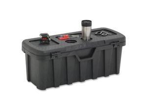 "Tuff Bin Storage w/Carrying Handles 35""x14""x13"" Black"