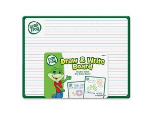 """The Board Dudes Leap Frog Double Side Draw & Whiteboard - 9"""" Width x 12"""" Height - Assorted Fiberboard Surface - Frame - Film - 24 / Box"""