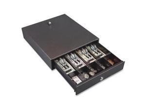 Hercules Cash Drawer Two Keys 13 x 14 1/2 Charcoal Gray