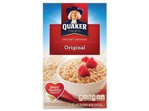 Quaker Oats Foods Instant Oatmeal - Original - Packet - 11.80 oz - 10 / Box