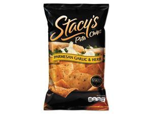 Stacy's Pita Chips, 1.5 oz Bag, Parmesan Garlic & Herb, 24/Carton