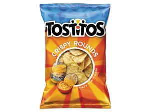 Tostitos Tortilla Chips Crispy Rounds, 3 oz Bag, 28/Carton