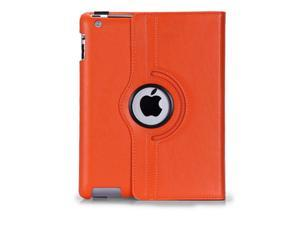 360 Rotating Magnetic PU Leather Case Smart Cover Flip Stand Protector For Apple iPad  2/3/4