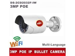 Hikvision DS-2CD2032F-IW 3MP HD 1080P WIFI Network Outdoor IR IP CCTV Bullet Camera  4mm lens