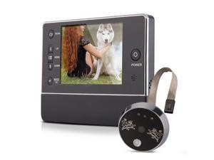3.5 Inches TFT LCD Door Doorbell Peephole Peep Hole Viewer Camera Night Vision