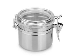 Home Kitchen Stainless Steel Airtight Sealed Canister Dry Food Container
