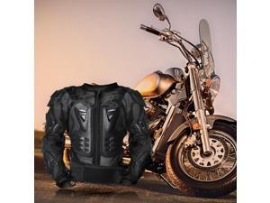 Men Motorcycle Off Road Motocross Riding Guard Jacket Armor Gear Protector L