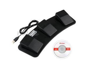 PC USB Foot Control Keyboard Action Switch Pedal HID