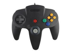 Professional Game Controller Pad for Nintendo 64 N64 Dark Grey