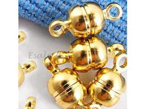 Gold Tone Metal Magnetic Clasp Jewelry Finding
