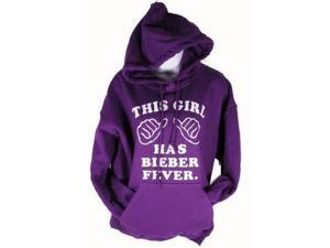 This Girl Has Bieber Fever Hoodie Adult Sweatshirt