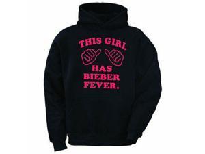This Girl Has Bieber Fever Hoodie Adult Sweatshirt