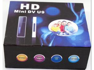 Black Mini DV U9 Spy USB Flash Drive Spy USB Disk Cameras HD Hidden Camera CMOS DVR Recorder Motion Detection 1280*960