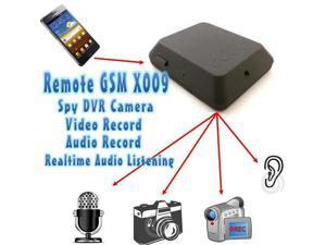 X009 Locator Remote GSM GPS Tracker SPY DVR Camera Listening Device Video and Voice Recorder Photo Camera