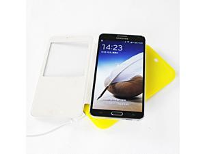 Qi Wireless Charger Yellow Qi Transmitter Wireless Charging Pad (MC-02A) + White Wireless Receiver Case (MC-CS4) Dormancy ...