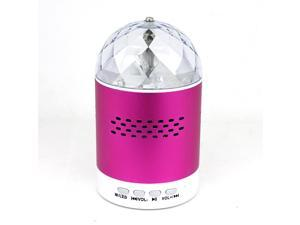 Mini Speaker SK#20 Colorful Flashing Lights Metallic Speaker With FM Radio USB TF Card Read Function for Mobile Phone Laptop Computer