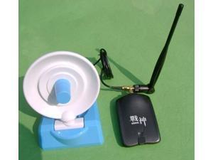 USB WIFI Wireless Adapter KASENS God of War III 990000G RTL8187L High-power Wireless LAN Antenna 10dBi 2000mW