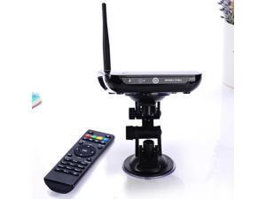 Quad Core Android TV Box Smart TV Receiver Webcam Microphone CS968 RK3188 1.6GHz 2G/8G HDMI AV USB RJ45 OTG WiFi Mini PC