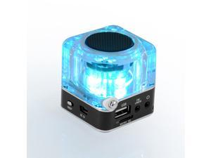 Digital Portable Mini Speaker Music MP3 MP4 Player Micro SD/TF USB Disk Speaker FM Radio LCD Display NiZHi TT-028 Computer Speaker