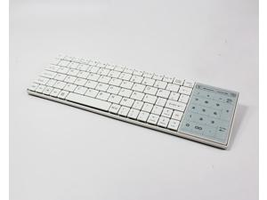 Multimedia Aluminum Ultra Slim Wireless Bluetooth 3.0 Keyboard with Touchpad for Windows for Android for IOS PC BT8