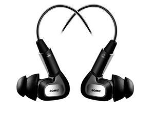 Somic MH415 Wired In-ear Headphone Headset with Mic Sport Earphone for MP3 MP4 Smartphone