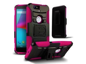Future Armor Impact Hybrid Hard Case with Stand for Huawei Google Nexus 6P