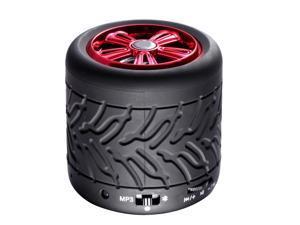 Wireless Bluetooth Speaker Tire Bass Portable Outdoor Speaker Tire Wheel Wireless MP3 Speaker
