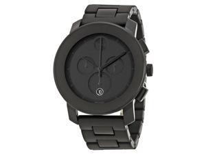 Movado Bold Chronograph Black Bracelet Mens Watch 3600048