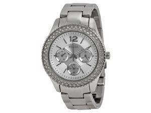 Fossil Stella Multi-Function Silver Dial Stainless Steel Ladies Watch ES3588