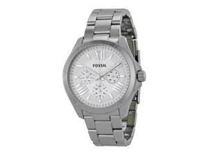 Fossil Cecile Chronograph Silver Dial Stainless Steel Ladies Watch AM4509
