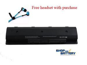 HP ENVY TOUCHSMART 15-J070US,  ENVY TOUCHSMART 15-J073CA, ENVY TOUCHSMART 15-J078CA, ENVY TOUCHSMART 15-J084EG laptop battery. 6cells 48WH by Shopforbattery - Free headset with purchase