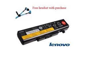 Lenovo 75+ 6 cell laptop battery for Lenovo Ideapad Y580, Ideapad Z380, Ideapad Z480, Ideapad Z580, Ideapad Z585 by Shopforbattery (Free headset with purchase)