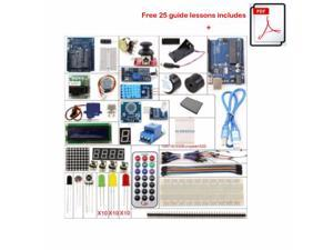 UNO R3 Starter Kit 1602 LCD Servo Motor Dot Matrix Breadboard LED for Arduino DIY