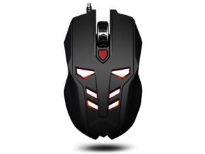 Transformers Optimus Gaming Mouse USB Wired Red Backlit LED Optical Mice for Computer