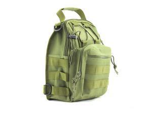 BeGrit Tactical Sling Backpack Military Shoulder Chest EDC Bag for Outdoor Sport Camp Hiking